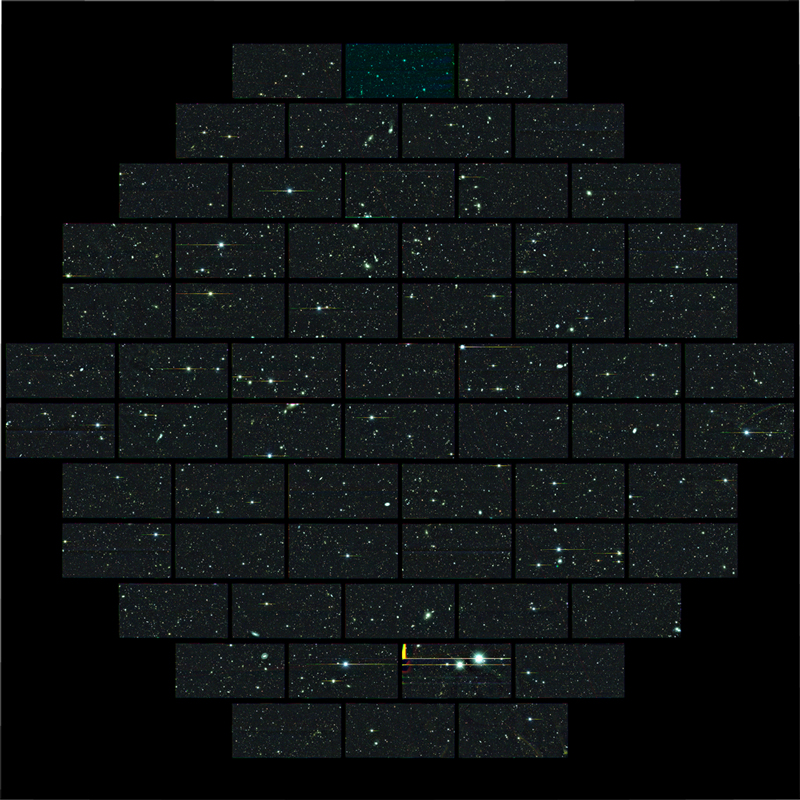 Dark Energy Picture Mosaic